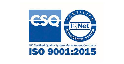 CSQ ISO 9001:2015